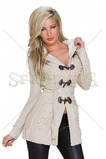 Intuitive Note Cream Jacket