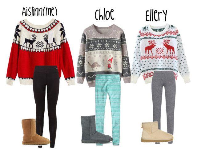Remarkable Idea Whole Fam Get Ugly Christmas Sweaters Christmas Sweaters Easy Diy Christmas Decorations Tissureus