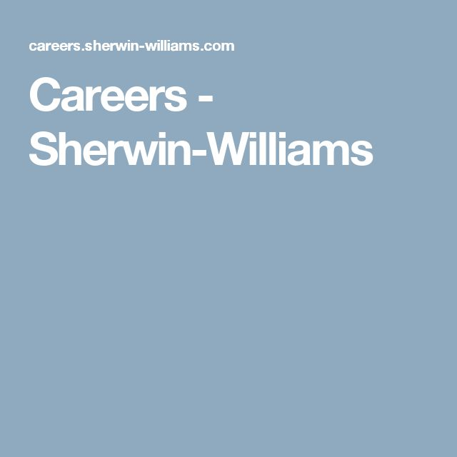 Careers - Sherwin-Williams