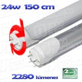 #Tuboled T-8 #LED 24W 150cm 6000k orientable | Tubos LED #Materialelectrico #AhorraEnergia #España