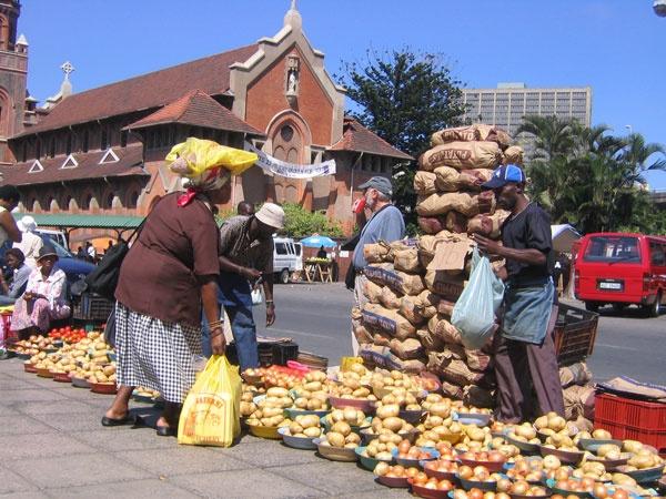 Street Market Durban,South Africa
