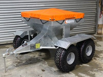Sheep snacker tandem axle to protect soft and wet terrain from damage. For more information or a quotation, please visit  http://www.fresh-group.com/sheep-snacker.html or call us on 0845 3731 832