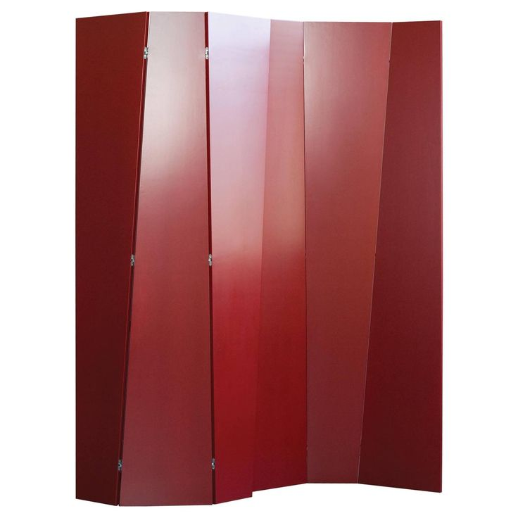 Handmade Tri-Fold Opaque Lacquer Folding Screen / Room Divider