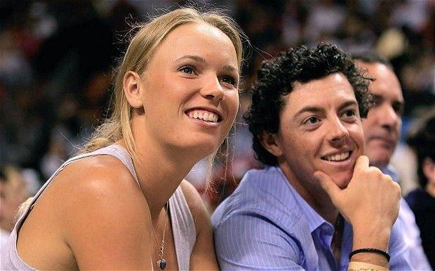 Caroline Wozniacki and Rory McIlroy