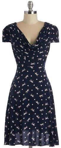 Louche Gondola Engagement Dress in Whimsy - dress for pear body shape                                                                                                                                                                                 More