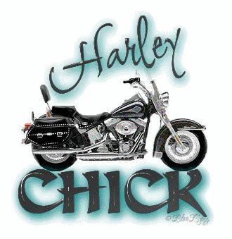 harley chick - definitely!