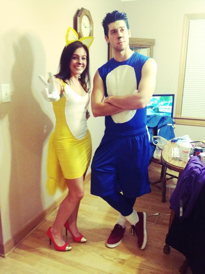 Tails and Sonic Costume DIY