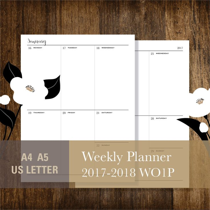 Viac ako 25 jedinečných nápadov na Pintereste na tému Weekly - one week planner template