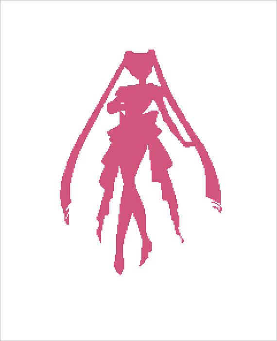 Buy 2 Get 1 Free-Modern cross stitch pattern-PDF pattern-SAILOR MOON-portrait-anime-comics-superhero-Best gift-decor-Instant Download