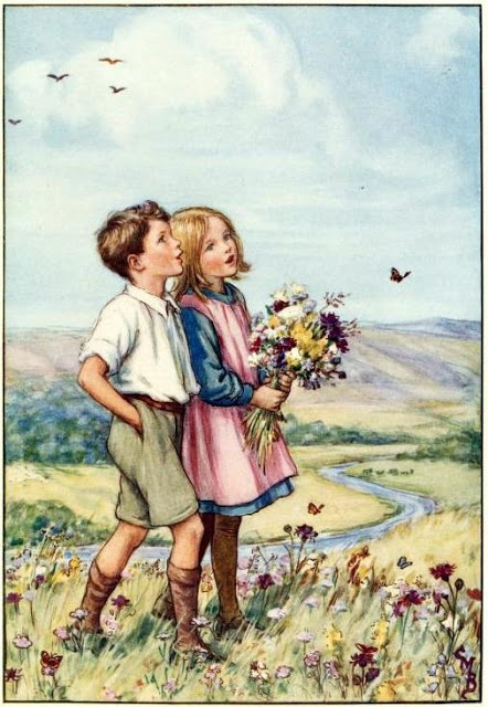 Cicely Mary Barker - Look at all these wonderful things Cicely drew!