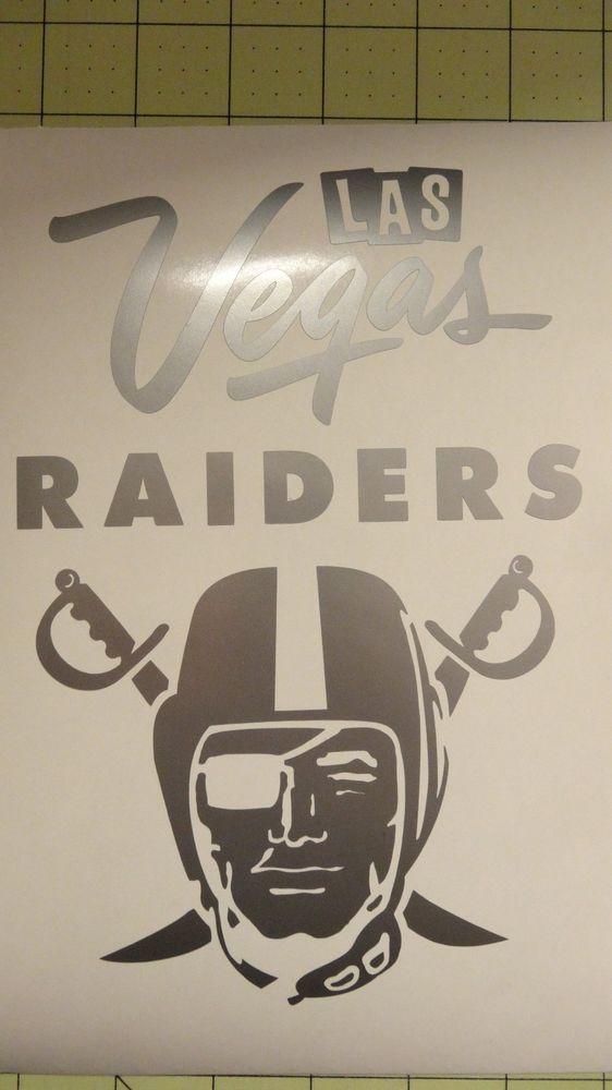 Las Vegas Raiders Car Decal