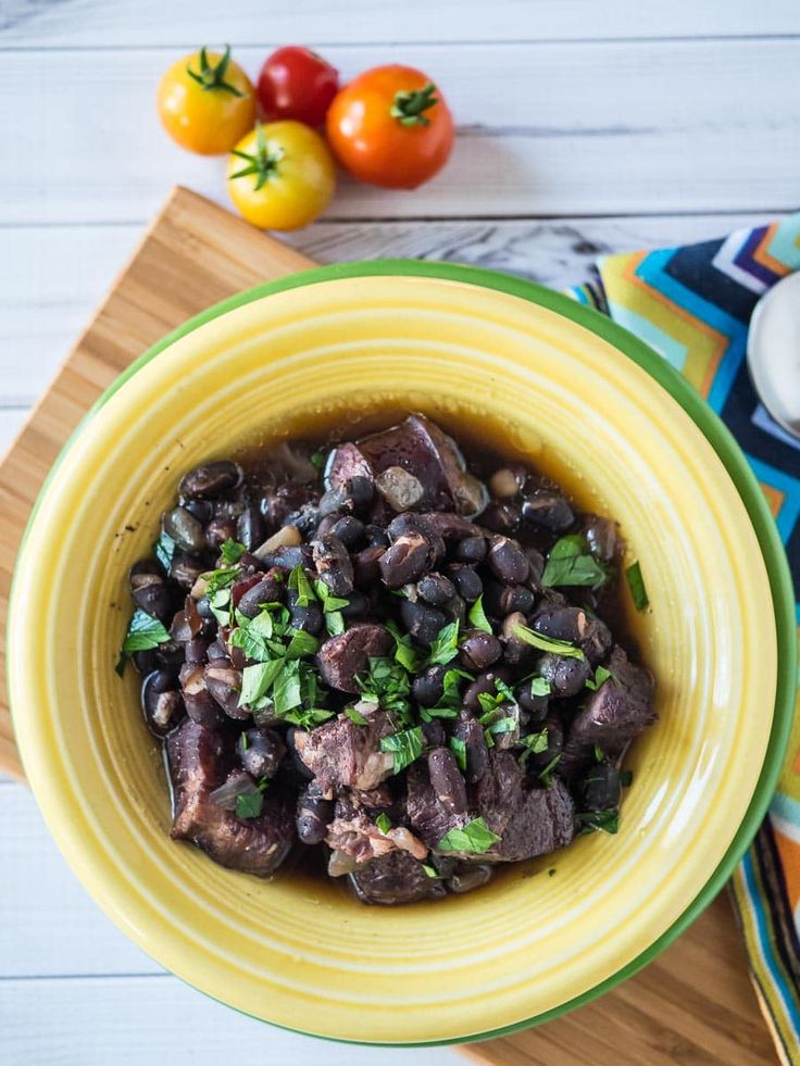 Pressure Cooker Feijoada – Brazilian Black Bean and Meat Stew recipe. Brazil's national dish, sped up in the pressure cooker.