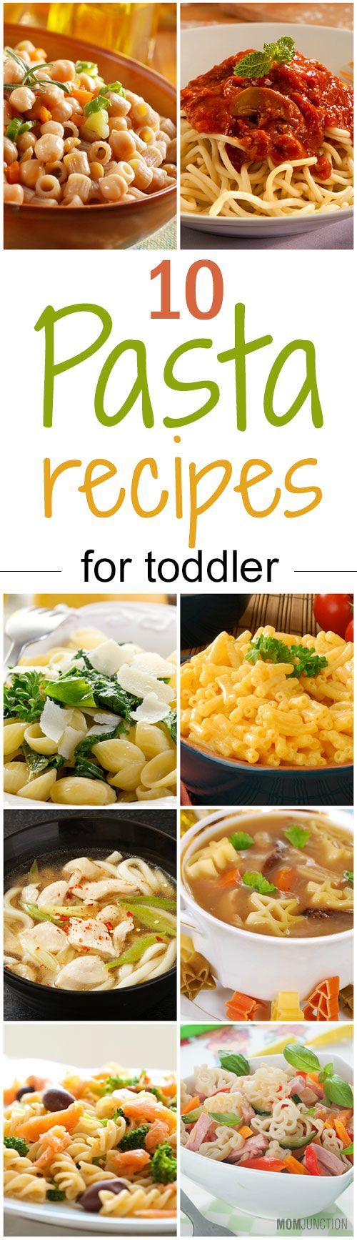 Pasta is a favorite among toddlers and young children. And why not! It tastes yummy, you'll have to agree! The best thing about this Italian delicacy is that you can fill it with healthy ingredients and turn it into a wholesome meal.So, ready to do the tango with pasta for toddlers? Let's cook some delicious and healthy pasta recipes for toddlers!