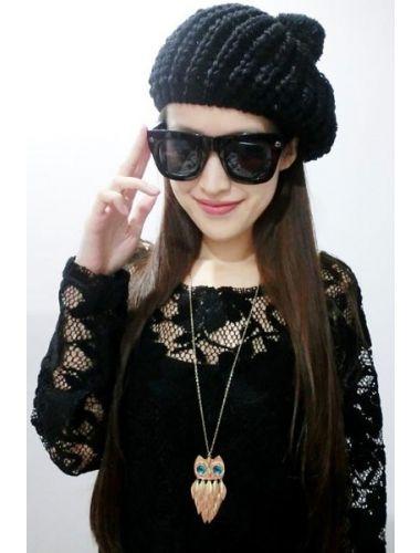 Gold Leaf Owl Necklace | Necklace | Jewelery | StringsAndMe