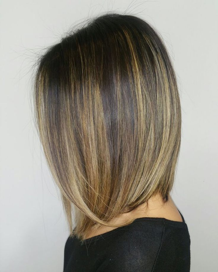 """74 Likes, 2 Comments - Rinaldo Lansdowne (@rinaldolansdowne) on Instagram: """"Smooth Transitions . . . #sleek and #effortless #haircut and #balayage by our lad @karolyn.chay…"""""""