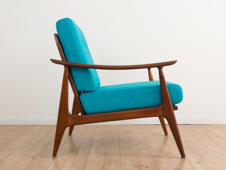 Cocktailsessel 50er leder  9 besten Sessel Bilder auf Pinterest | Sessel, 60er jahre und Ideen