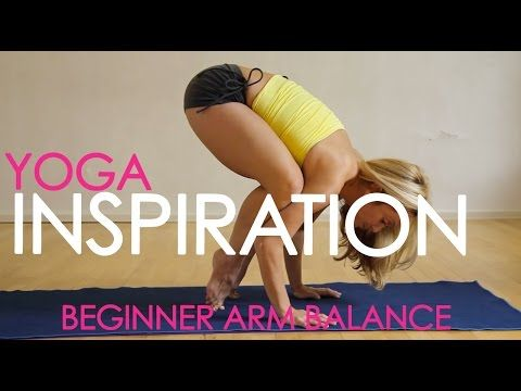 Yoga for Strength, Beginner Arm Balances with Kino - YouTube