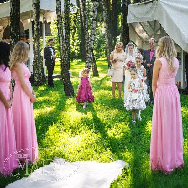 Выездная церемония. Дети на свадьбе