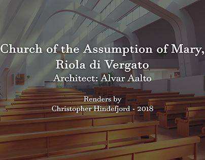 "Check out new work on my @Behance portfolio: ""Riola Parish Church - CG Render"" http://be.net/gallery/64461937/Riola-Parish-Church-CG-Render"