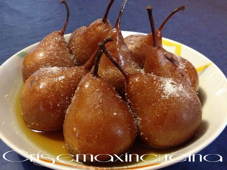 un modo diverso di gustare la frutta: le pere cotte aromatizzate
