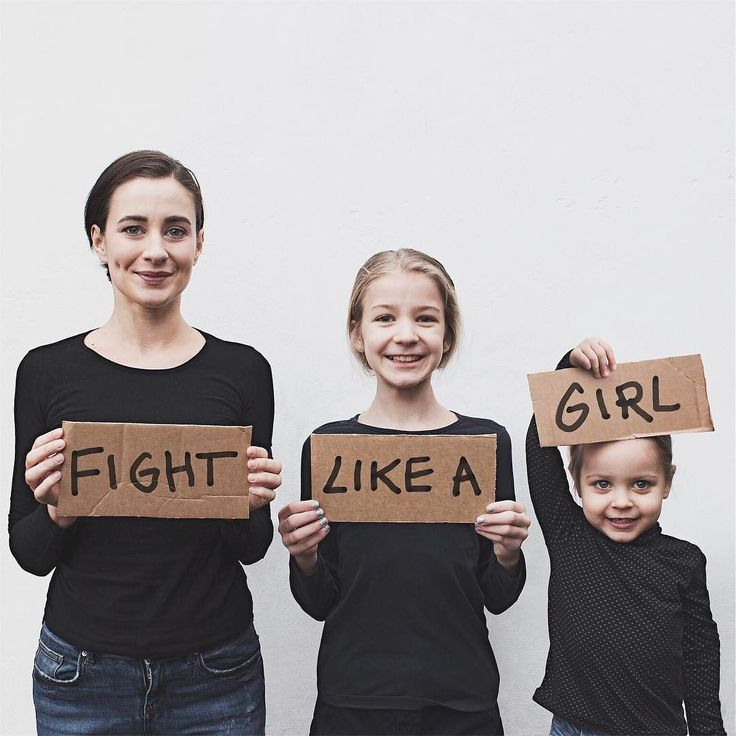 All of the signs we saw on yesterday's #womensmarch were all filled with love and inspiring messages but to me this one really stood out. The term 'fight like a girl' used to be thrown around as a negative remark but those days are definitely over. If fighting like a girl means standing strong together like the men women and children did yesterday then I'll fight like a girl everyday. We couldn't be there yesterday but we're not staying silent either (my girls never are ) #allthatisthree