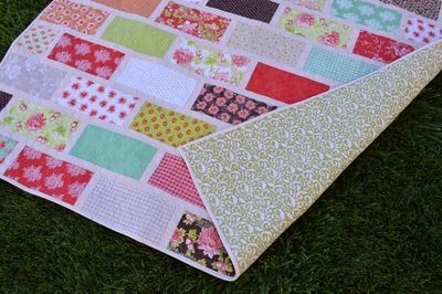 This lovely, easy quilt pattern is so reminiscent of a garden fence, you'll think you're outside in the warmth of spring. Some of the best features of this quilt are how easy it is to sew, and how easily it can be adapted for scraps!