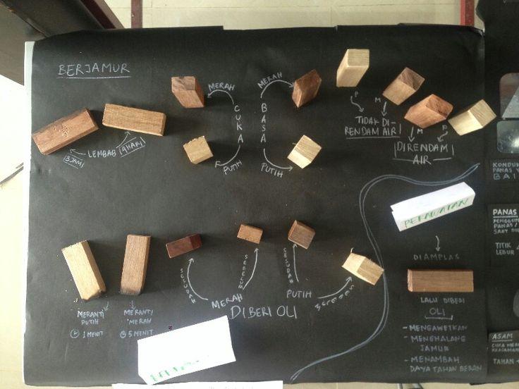 Display Meranti Wood : 3D part