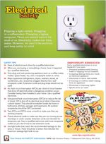 Fire safety tips for National Fire Prevention Week (#electrical #safety)