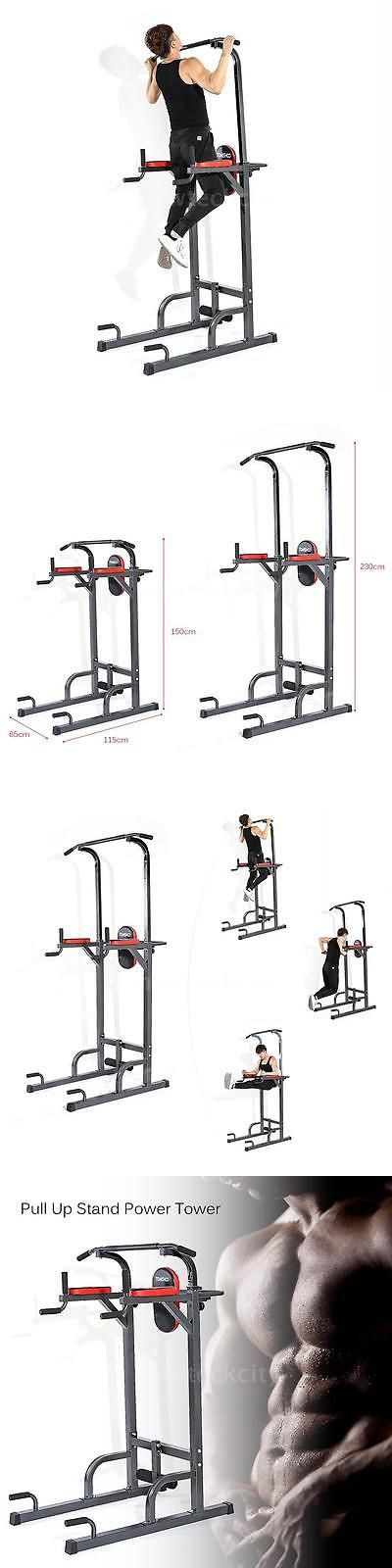 Pull Up Bars 179816: Tomshoo Chin Up Tower Rack Pull Up Stand Bar Leg Raise Home Gym Workout Weight -> BUY IT NOW ONLY: $108.1 on eBay!