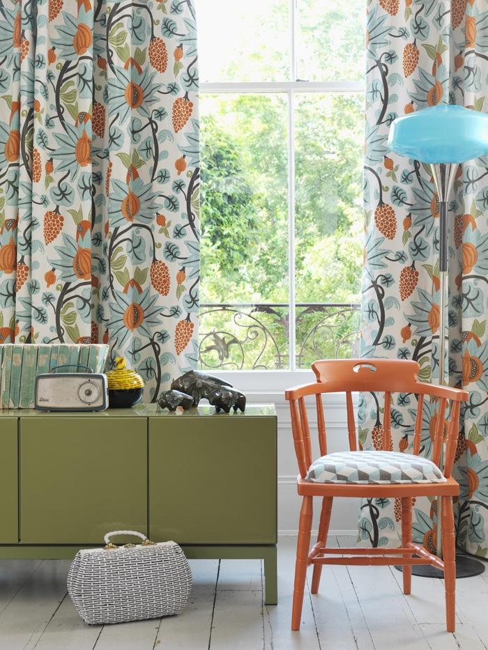 Love The Curtain Fabric Home Ideas Pinterest