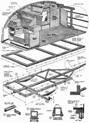 10 images about schematic on pinterest wire hanger for Picnic boat plans