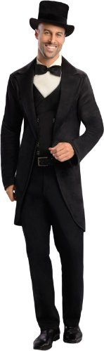 Rubies Costume Disneys Oz The Great and Powerful Oscar Diggs BlackWhite Medium -- To view further for this item, visit the image link.