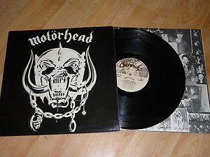 MOTORHEAD - Motorhead VINYL LP  Inner 1st Press - CHISWICK WIK 2