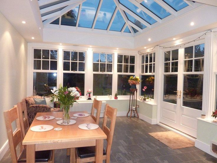 261 best garden room images on pinterest hothouse for Orangery extension kitchen