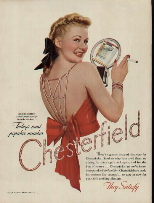 Marion Hutton for Chesterfield - This is such a great idea for a new years dress!