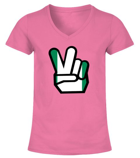 NIGERIA flag winning finger Shirt