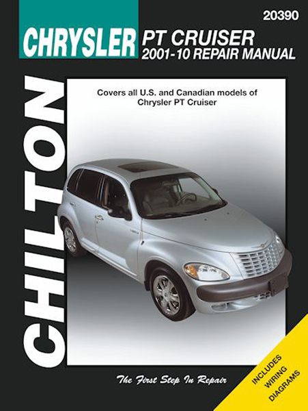 Chrysler PT Cruiser Chilton Manual 2001-2010: Covers all US & Canadian models of Chrysler PT Cruiser Complete step-by-step automotive…