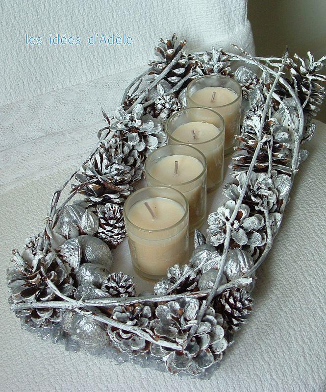 Oltre 25 idee originali per centritavola natalizi su for Decorazioni da scrivania