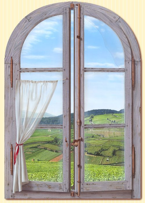 17 best images about trompe l 39 oeil on pinterest window for Fenetre trompe l oeil