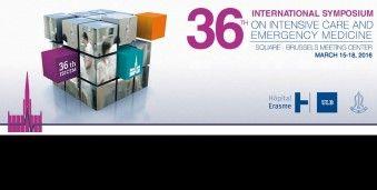 브뤼셀 응급 · 중환자 의학회 ISICEM 2016 Internation Symposium on Intensive Care & Emergency Medicine