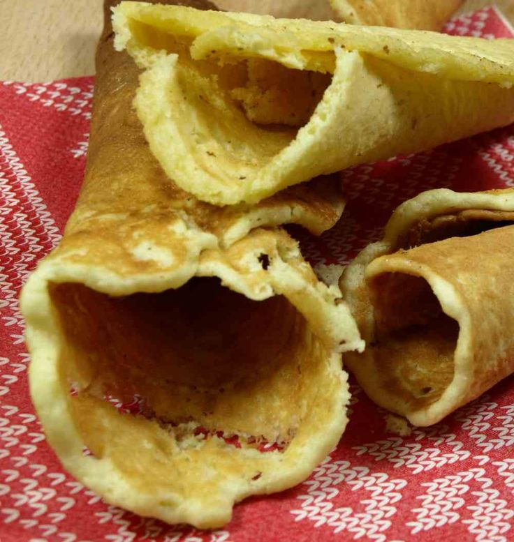 Bilde av Krumkaker glutenfrie oppskrift.
