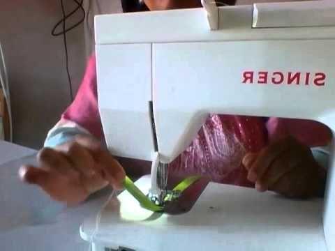 4 maneiras de costurar viés - YouTube