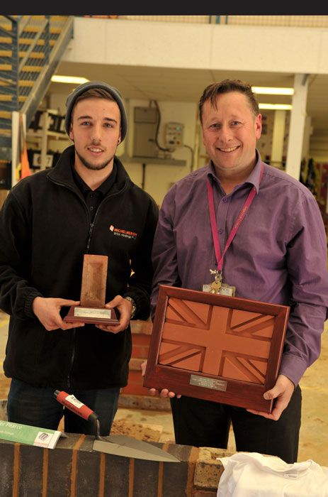 Another win for Brookland's College brickwork students http://www.mbhplc.co.uk/win-brooklands-college-brickwork-students-2
