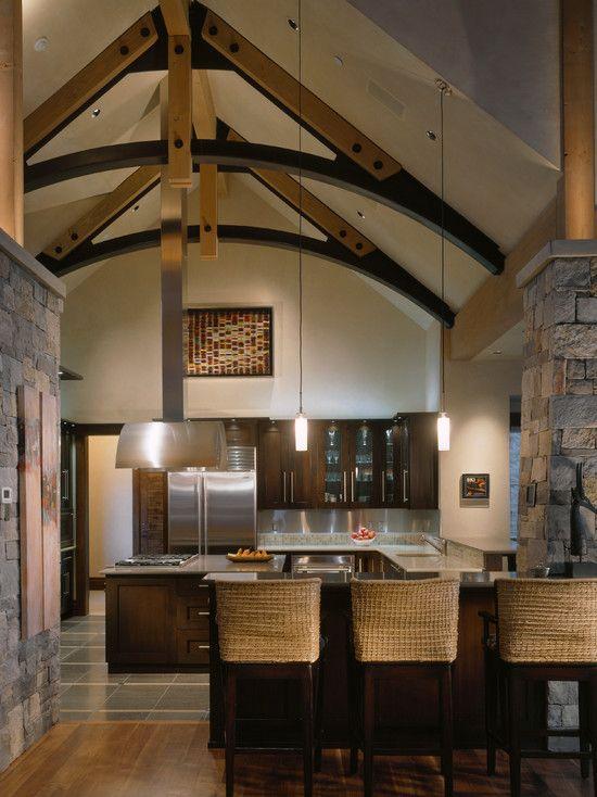 Stunning Modern Rustic Interior Designs Ideas Sleek