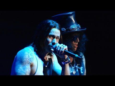 Slash and Myles Kennedy - Sweet Child o' Mine - Kraków 2014