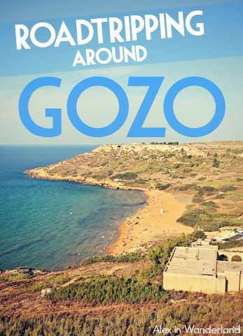 The nation of Malta is actually made up of three distinct islands — Malta, Comino, and Gozo. The best way to see the latter? A road trip, of course! | Alex in Wanderland