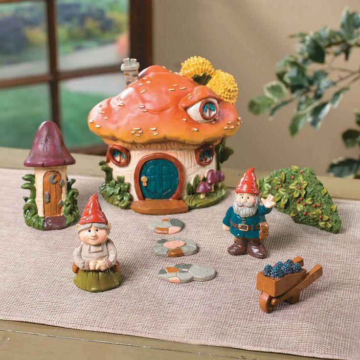 Gnome Village - OrientalTrading.com