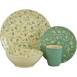 I love this set! It has a casual but vintage feel to it. I just ordered a set, so I'll see if it's as great as I hope!