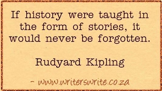 Learn more about Rudyard Kipling here