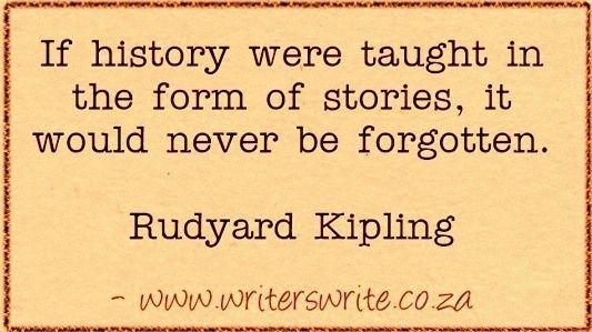 Learn more about Rudyard Kipling here